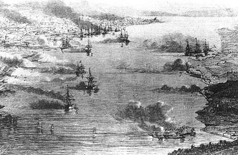 イギリス艦隊と薩摩砲台の戦闘