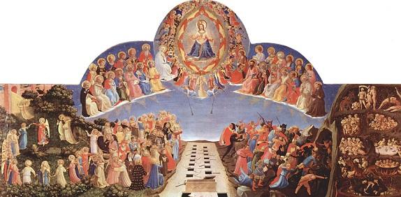 最後の審判 フラ・アンジェリコ(1432年 - 1435年)