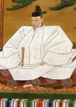 豊臣秀吉像(狩野光信筆 高台寺蔵 重文)
