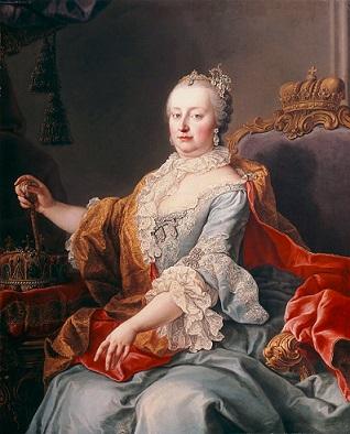 神聖ローマ皇后 マリア・テレジア 1759年