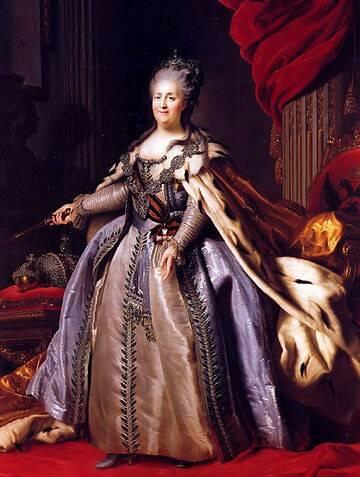 1780年代、エカチェリーナ2世