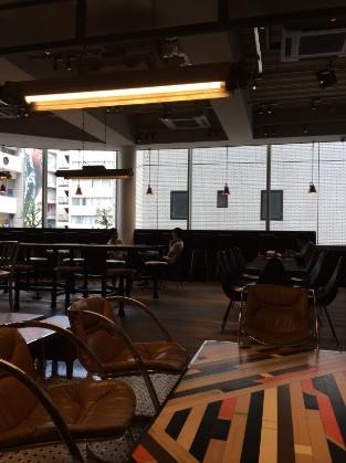 GORILLA COFFEE (ゴリラコーヒー)渋谷店 店内