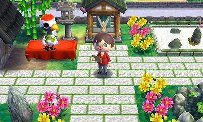ハピ森 攻略 趣のある日本庭園 デザイン例
