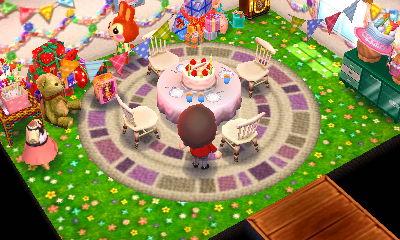ハピ森 攻略 毎日が誕生日パーティー デザイン例