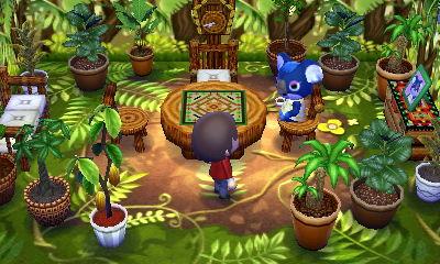 ハピ森 攻略 ジャングル×ジャングル デザイン例