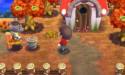 ハピ森 攻略 秋の気配を感じていたい デザイン例
