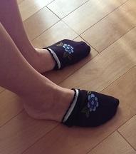 靴下大発見