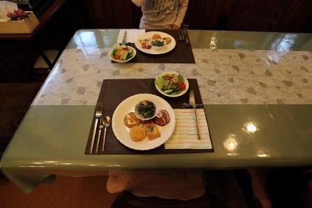 白樺倶楽部夕食朝食5