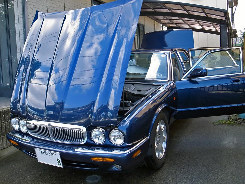ジャガーX308 今週の洗車