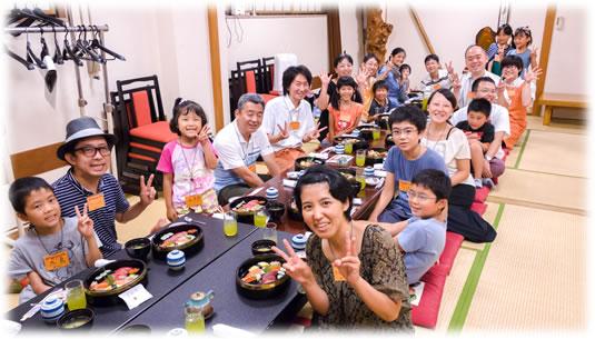 2015-08-23 親子でボードゲームとお寿司 第36回:記念写真