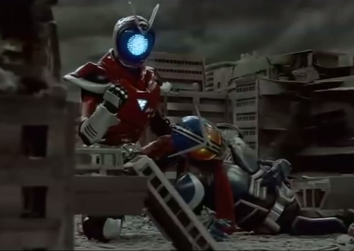 ヒーロー 陳柏霖 変身 台湾  宇宙超人 ヤラレ ピンチ