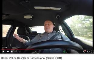 テイラースイフトShake it offにノリノリのイギリスの警察官