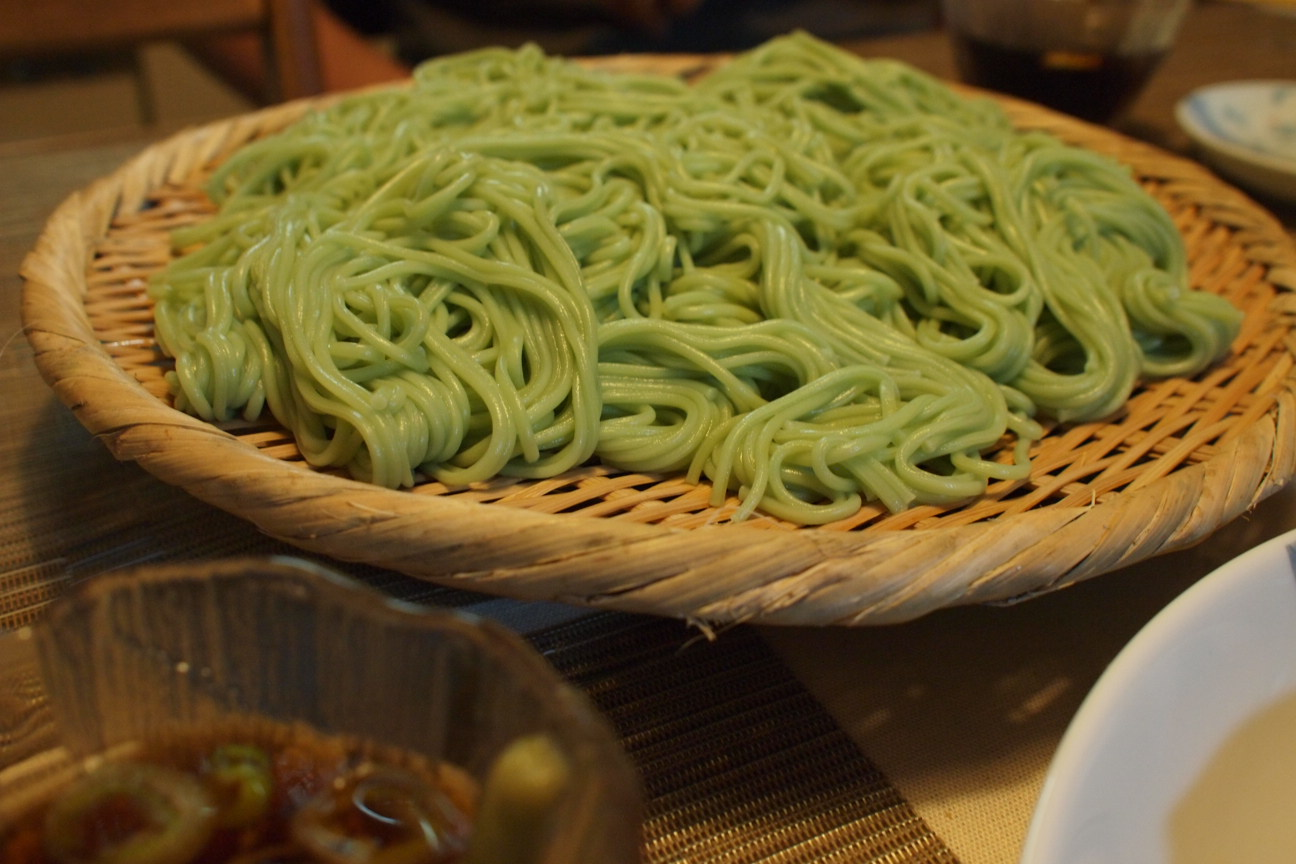 グリーン麺大盛
