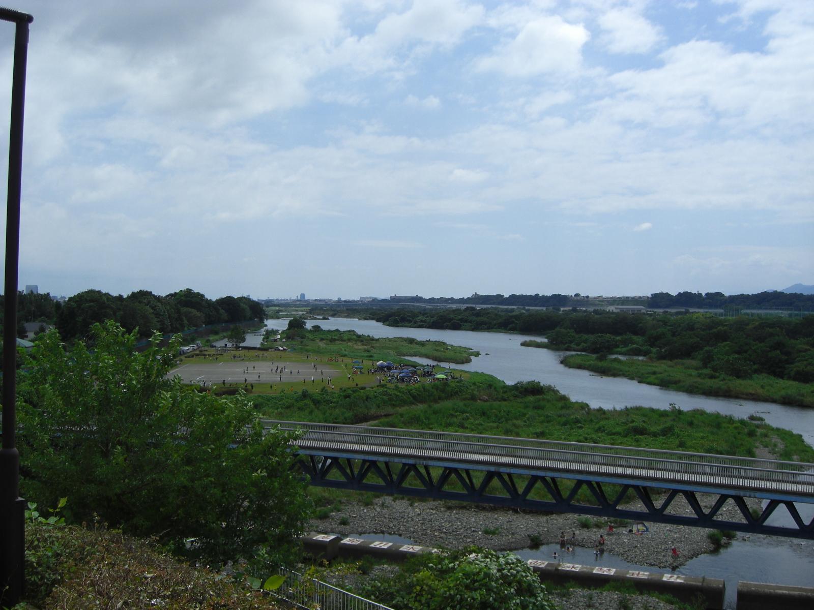 相模川三段の滝広場2