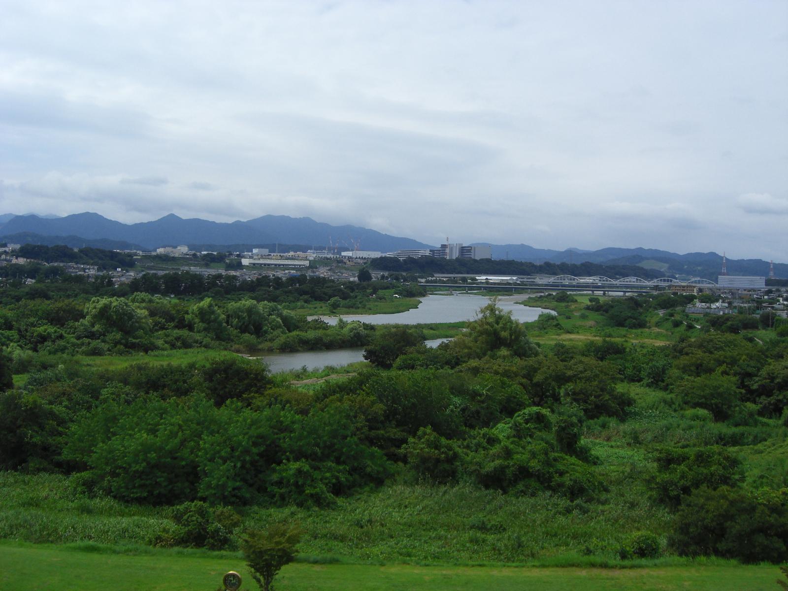 相模川三段の滝広場3