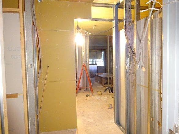 某アパート改修~内装下地施工中 4
