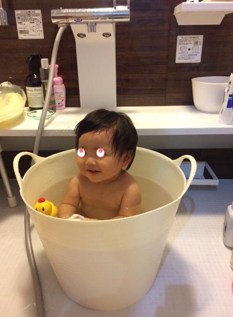 みぃちゃん お風呂♪