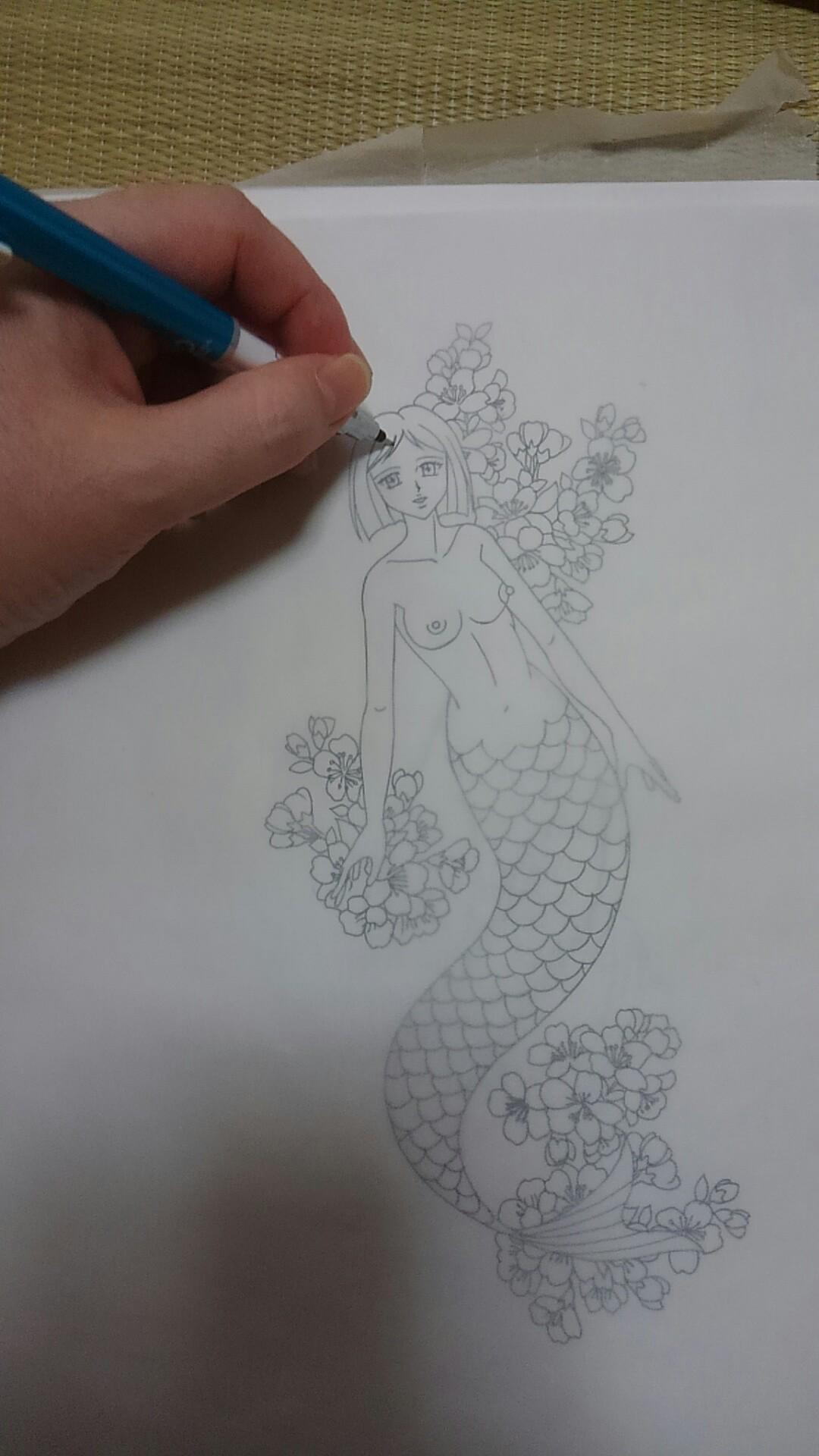 メイキング誰にでも描けるッッ刺青の描き方ッッ Asdポンチの